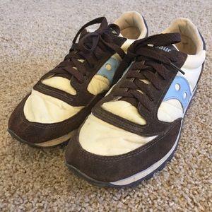 Saucony Jazz Brown Sneaker Tennis Shoe 8